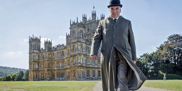 Dvě vstupenky do Lucerny na film Panství Downton