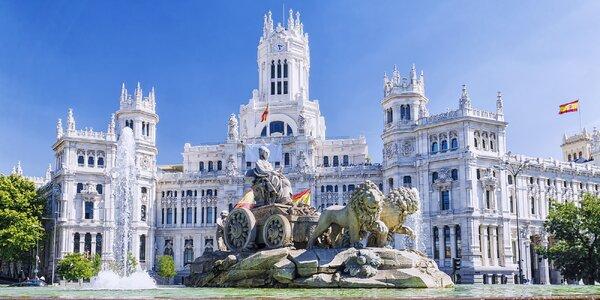 Letecky do Madridu a Toleda: zájezd s ubytováním