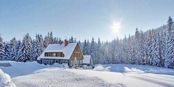 Relax v Jizerkách se stravou a saunou