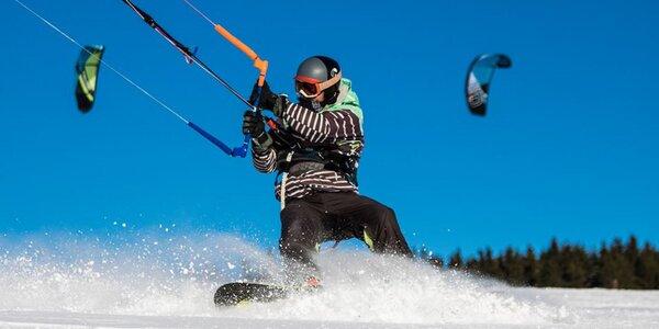 Individuální kurz kitingu: na sněhu, zemi či vodě