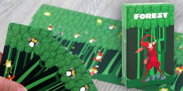 Forest: rychlá karetní hra pro celou rodinu