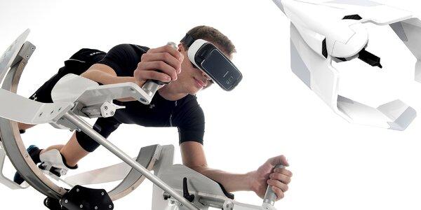 Simulátor létání a plavání ICAROS VR