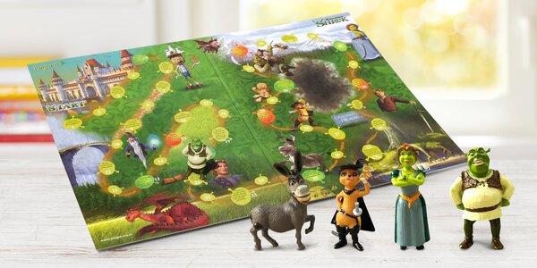 Společenská desková hra Shrek pro celou rodinu