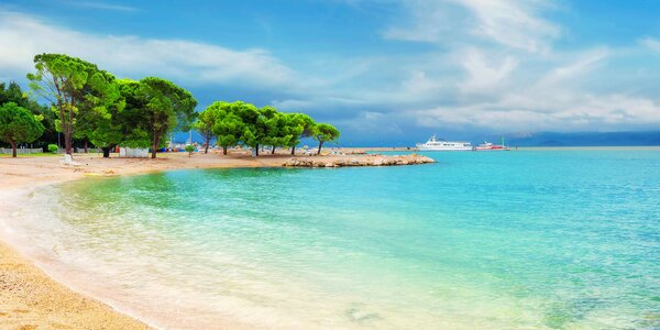 Chorvatská Crikvenica s dopravou a ubytováním