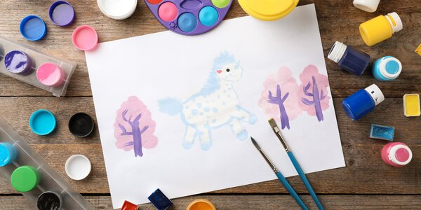 Výtvarný kurz pro děti: jedna nebo sedm lekcí
