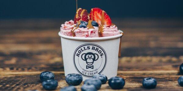 Rolovaná zmrzlina: voucher na 100 či 350 Kč