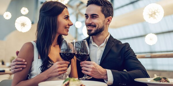 3chodové menu i s lahví vína nebo domácí limonádou