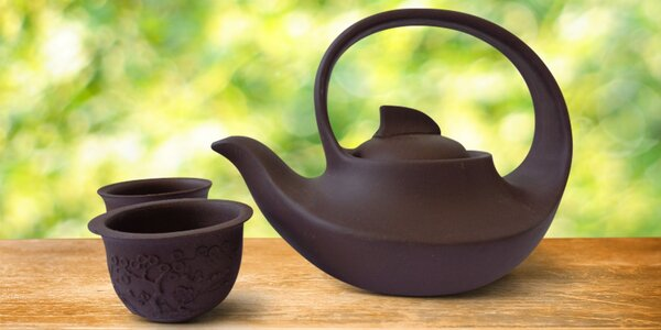 Pro čajomily: Čajové sety konviček a šálků