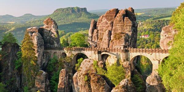 Výlet na Skalní most Bastei a do Kurort Rathen