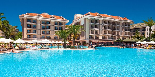 Antalya all inclusive: 5* hotel s aquaparkem i spa