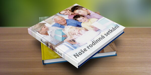 Fotokniha XL nebo A4 v pevných deskách, od 32 stran