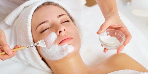 Kosmetické ošetření pleti dle výběru nejen pro ženy
