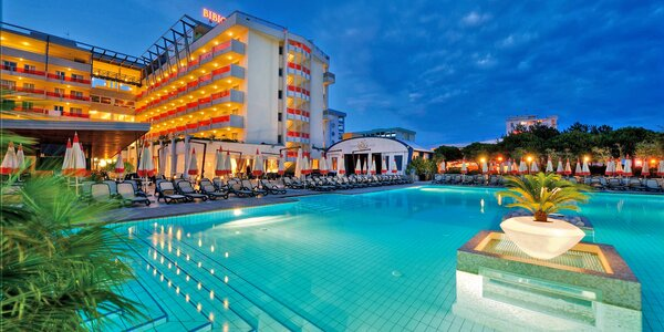 Dovolená v Bibione: polopenze, bazény i wellness