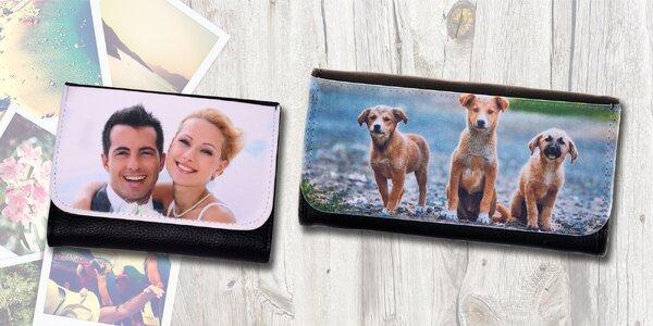 Dámská nebo pánská peněženka s vlastní fotografií