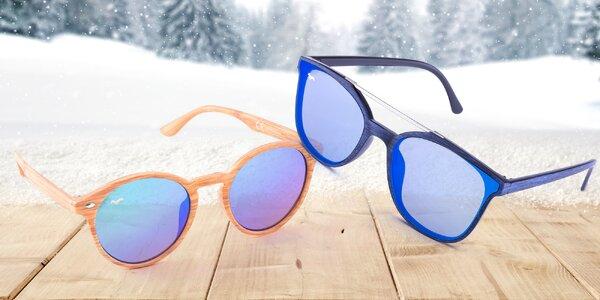 Unisexové sluneční brýle Kašmir na zimu