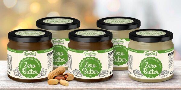Green Food: kvalitní krémy z arašídů a lískových ořechů