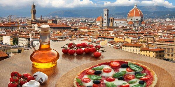 Výlet do Florencie autobusem: Baptisterium i Arno