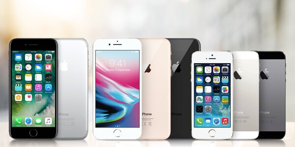 Zánovní Apple iPhone 6s, 7, 8, 8 plus, XR i X