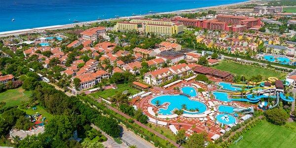 Turecko s dětmi: all inclusive a 5* rodinný hotel