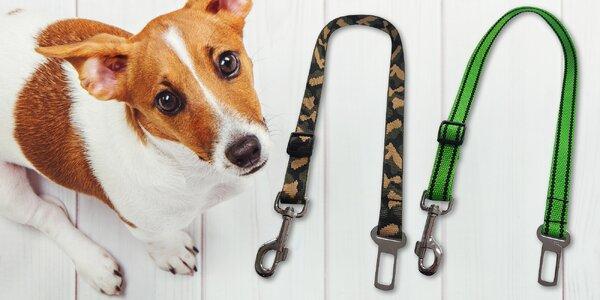 Bezpečnostní pásy do auta pro různé velikosti psů