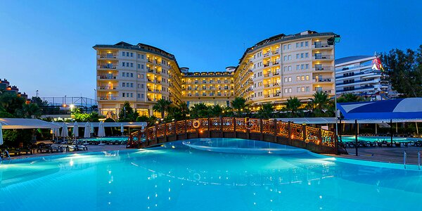 Turecko all inclusive. 5* spa resort u Alanye
