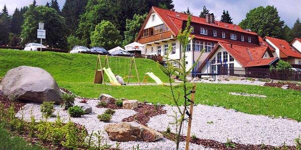 Aktivní dovolená na Šumavě: jídlo, sauna i výlety