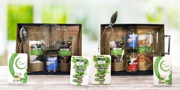 Balíčky pro radost plné zdravých produktů