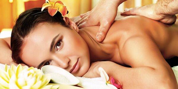 60 nebo 90minutové masáže dle výběru