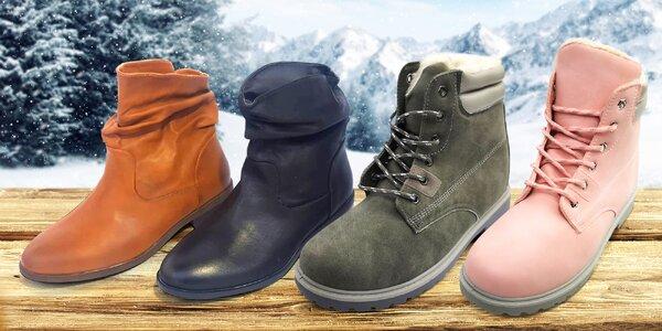 Dámské kotníkové boty vč. workerů, více barev