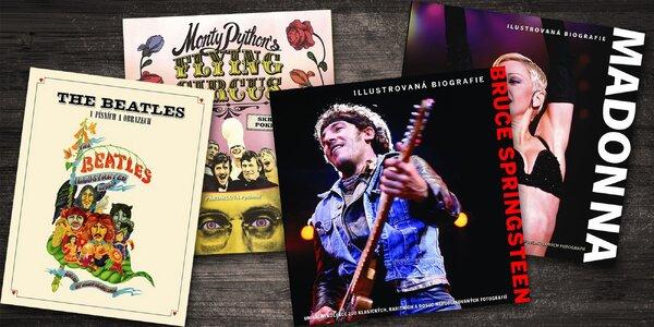 Knihy Beatles, Madonna, Springsteen i Monty Python