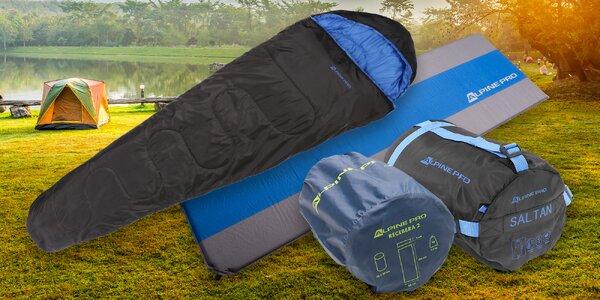 Doplňky Alpine Pro: karimatky a spací pytel