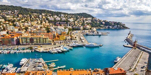 Pobyt ve francouzském Nice se snídaní