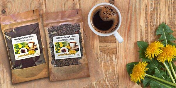 Zdravá bezkofeinová káva z kořene pampelišky
