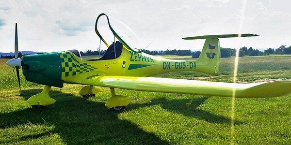 Seznamovací lety: 20-60 minut letu vč. pilotování