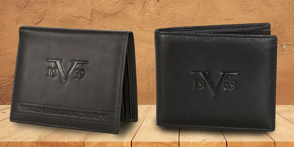 Elegantní kožené peněženky 19V69 Italia