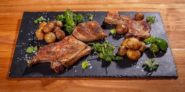 Steaky z iberského prasete i mangalice pro 2 os.