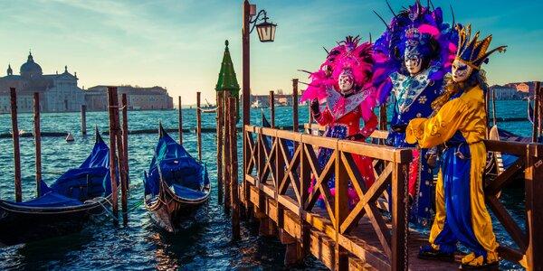 Karneval v Benátkách i Verona: 1–2 noci v Itálii