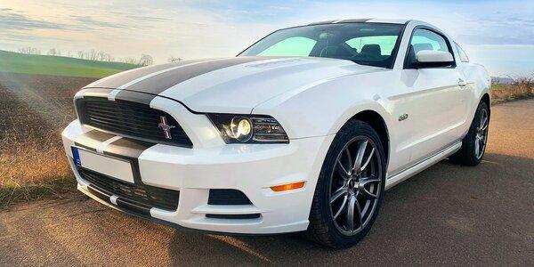Až 12 hod. řízení Fordu Mustang 5.0 GT nebo Cabrio