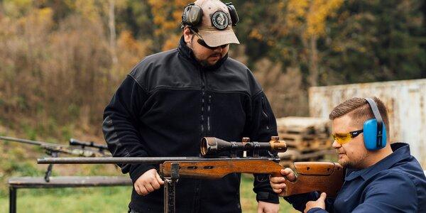 Střelecké balíčky se zbraněmi podle vašeho výběru