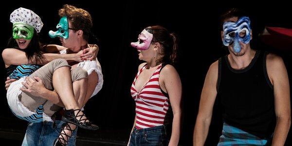 Vstupenka na divadelní představení Quijoti