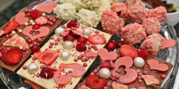 Sladký Valentýn v Choco-story: workshop a prohlídka