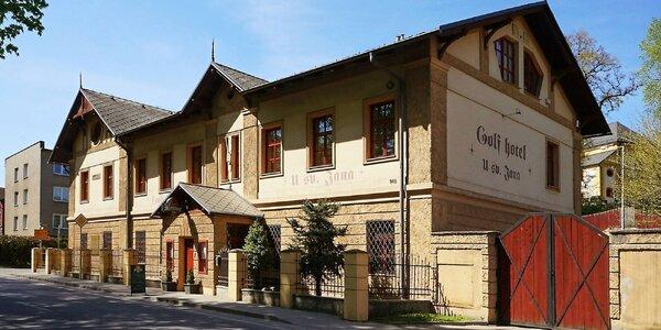 Severní Morava se stylovém hotelu s polopenzí