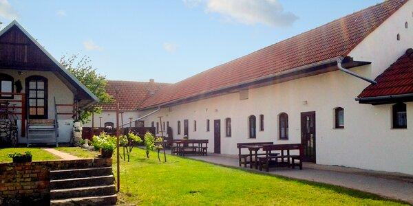 3 dny na Moravě s ochutnávkou místních vín