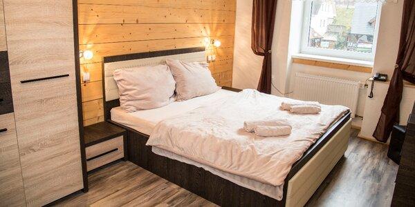 Pobyt v Rokytnici s polopenzí a saunou