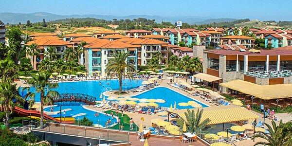 Okurcalar all inclusive. 4*+ resort, bazény, spa i hřiště