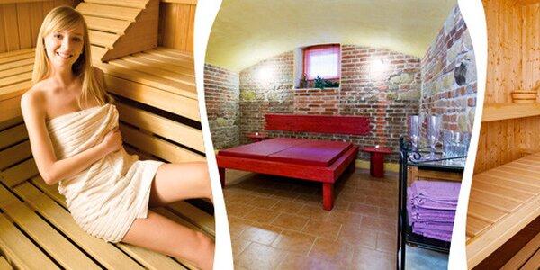 Privátní sauna 80 minut či s s přáteli na celou noc