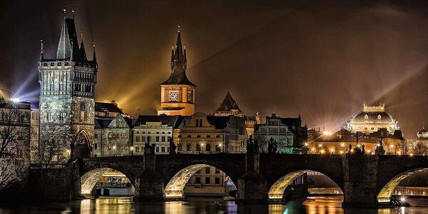 Kurz večerního a nočního focení v Praze