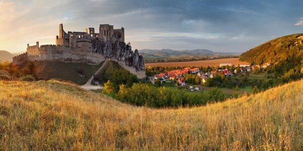 Pobyt kousek od Čachtického hradu