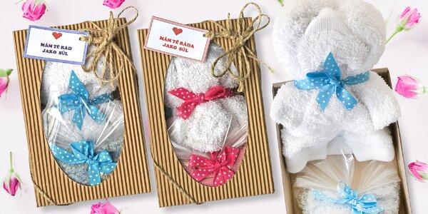 Valentýnské koupelové soli v krásném balení