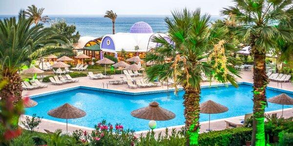 Vyhlášené pláže Faliráki. 4* hotel s all inclusive